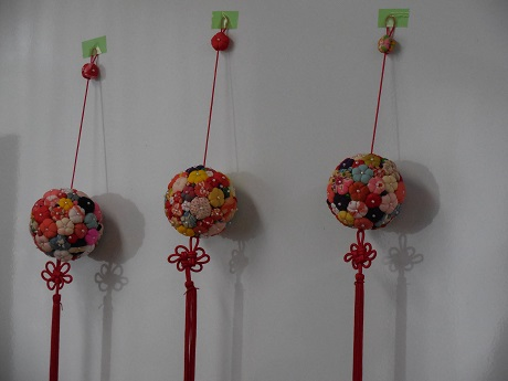 【成人向け】梅のつるし飾りを作りましょう