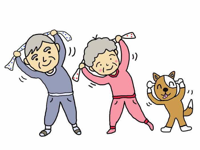 【成人向】50歳からの健康体操教室(後期)開催のご案内